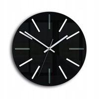 Zegar Ścienny HENRY - Czarny/Biały/Szary Design