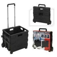 Lumarko Składany wózek ręczny, aluminium i PP