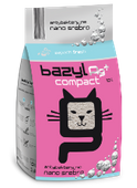 BAZYL Ag+ COMPACT FRESH 10L żwirek dla kota