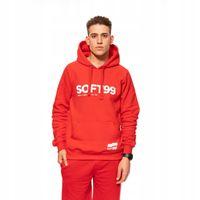 Soft99 bluza czerwona m