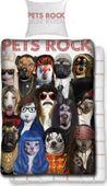 Pościel licencyjna PETS ROCK 140x200
