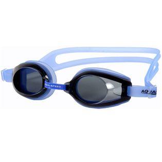 Okulary pływackie AVANTI Kolor-Okulary - 21 - niebieski transparent / ciemne szkła