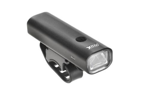 Lampa przednia /akumulator/ PROX AERO F III  400lm USB czarna