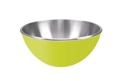 Miska kuchenna stalowa 25 cm Zak! Designs zielona