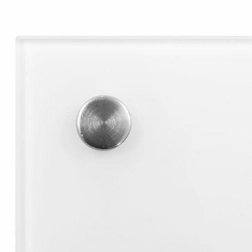 Lumarko Panel ochronny do kuchni, biały, 90x40 cm, szkło hartowane na Arena.pl