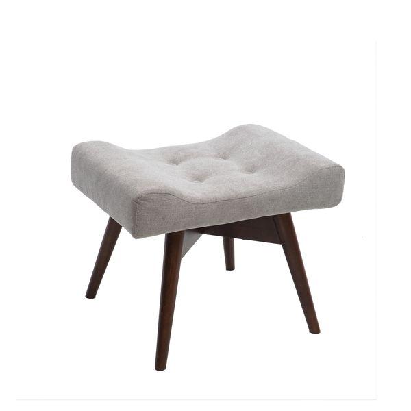 Fotel uszak mały styl skandynawski podnóżek gratis zdjęcie 7