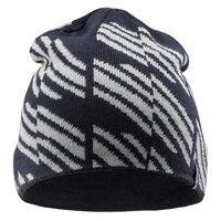 Męska czapka zimowa Hi-Tec Sylt czarno-szara rozmiar uniwersalny
