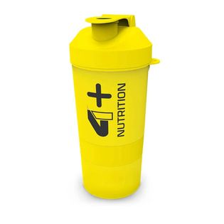 4+ Nutrition Smart Shaker Yellow 600ml
