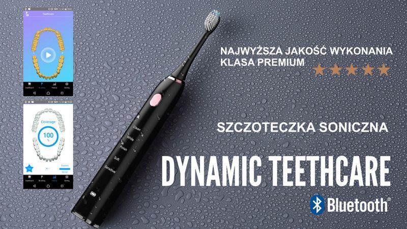 Szczoteczka soniczna do zębów aplikacja TEETHCARE na Arena.pl