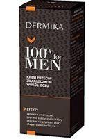 Dermika 100% for Men Krem pod oczy przeciwzmarszczkowy  15ml