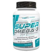TREC Super Omega 3 60kap Zdrowe Kwasy Tłuszczowe