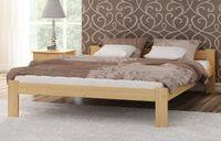 Łóżko drewniane NABA 160x200 + stelaż elastyczny
