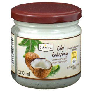 Olvita Olej Kokosowy Zimnotłoczony 200Ml