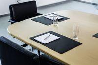 Durable Czarny podkładka na biurko 420 x 300 mm