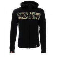 Poundout - Bluza z kapturem męska czarna/moro L