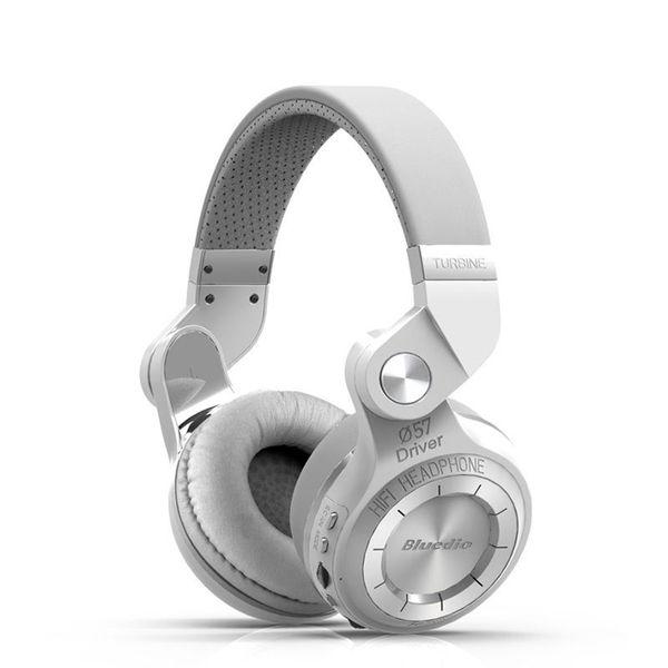 BIAŁE Słuchawki bezprzewodowe bluetooth BLUEDIO T2+ zdjęcie 1