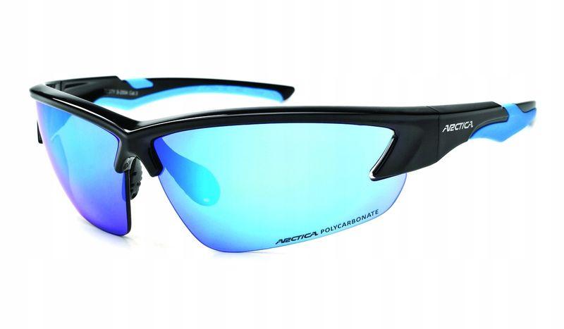 Okulary arctica s-255b lustrzanki sportowe blue zdjęcie 5