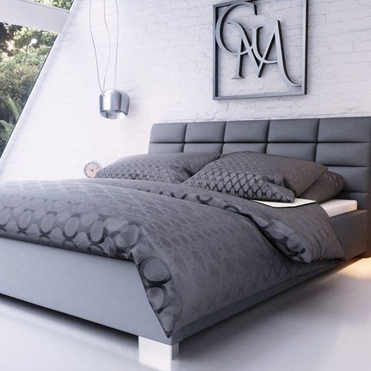 łóżko Tapicerowane Dora 160200 Stelaż Metalowy Pojemnik