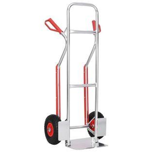 Wózek ręczny z uchwytami 49.5x45x118cm aluminiowy 150 kg VidaXL
