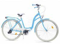 """Rower Dallas City 28"""" 7spd - niebieski z białym"""