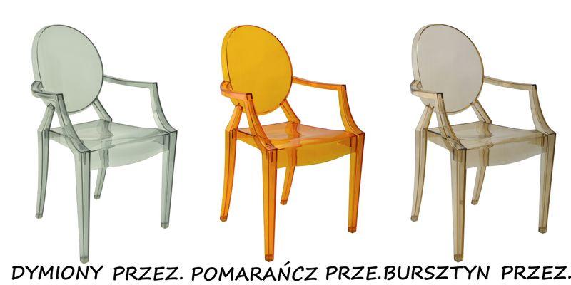 Krzesło Dankor Design Louis Ghost przezroczysty zdjęcie 14
