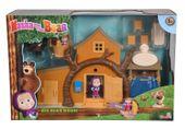 Simba Figurki Masza i Niedźwiedź - Dwupoziomowy dom Niedźwiedzia