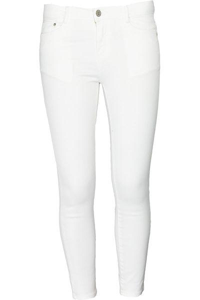 Zara Białe Spodnie 78 34 XS