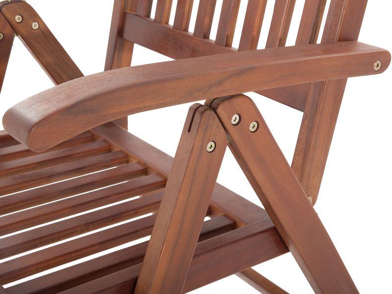 Meble Ogrodowe Balkonowe Drewniane Stół I Krzesła Ekskluzywne