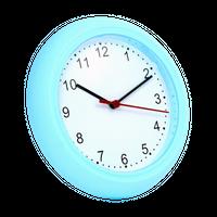 Zegar ścienny Sunday NIEBIESKI