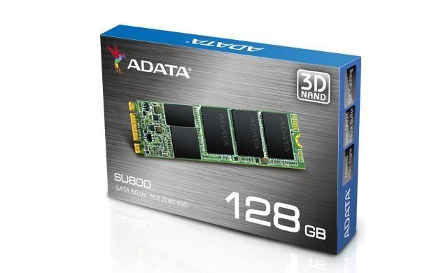 Dysk SSD ADATA Ultimate SU800 128GB M.2 (560/300 MB/s) 2280 3D TLC zdjęcie 1