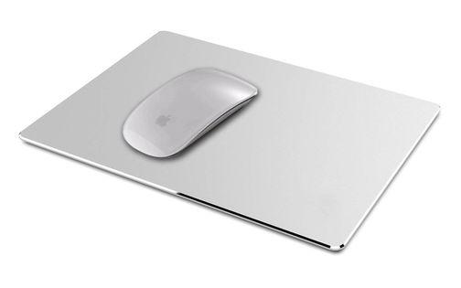 aluminiowa podkładka pod mysz komputerową PC apple magic mouse