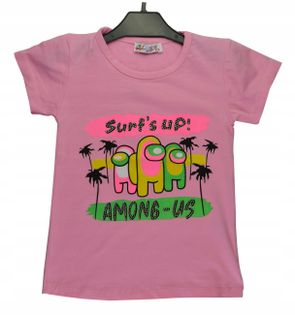 Bluzka dziewczęca Surf's up, bawełna roz.110