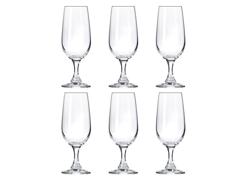6 kieliszków do szampana 180 ml BASIC KROSNO zdjęcie 1