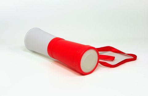 Mała trąbka dla kibica biało-czerwona - POLSKA