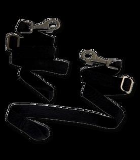 Pasy do derki WALDHAUSEN na nogi elastyczne black