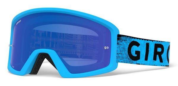 Gogle GIRO BLOK MTB blue hypnotic (Szyba Niebieska Lustrzana COBALT BLUE S3 0,8-18% + Szyba Przeźroczysta S0 99%)