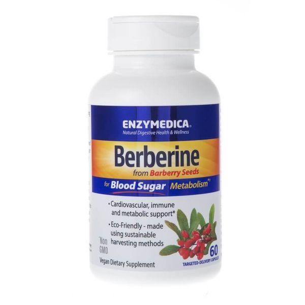 Enzymedica Berberyna 500 mg - 60 kapsułek zdjęcie 3
