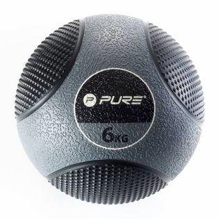 Pure2Improve Piłka lekarska, 6 kg, szara