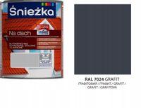 Śnieżka na dach poliwinylowa grafit RAL 7024 0,75L
