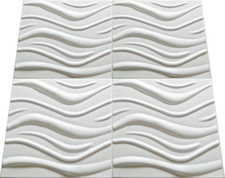 Dekoracyjne Panele Ścienne 3D Kasetony Sufitowe WAVE zdjęcie 3