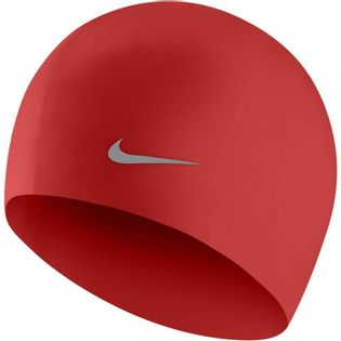 Czepek pływacki Nike Os Solid Junior czerwony TESS0106-614