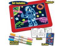 Magic pad Magiczny tablet do rysowania tablica LED + KREDKI