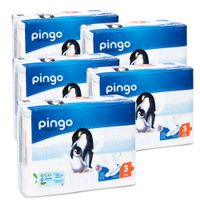 Pieluszki Pingo Ultra Soft 3 MIDI 4-9kg 220szt. (5x44)