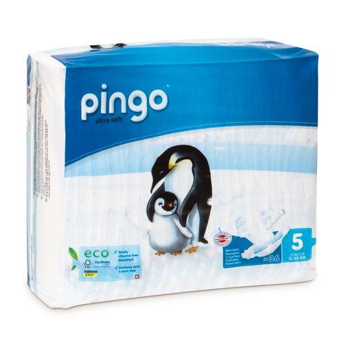 Pieluszki Pingo Ultra Soft 5 JUNIOR 180szt. (5x36) na Arena.pl