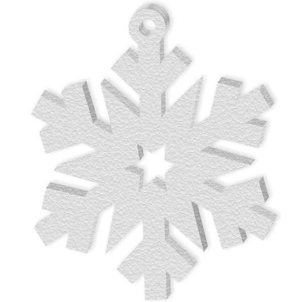 styropianowe ŚNIEŻKI płatki śniegu 10 szt 20 cm na Arena.pl