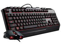 Zestaw przewodowy klawiatura + mysz Cooler Master Devastator 3 Gaming czarny