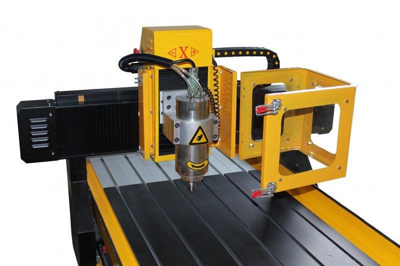 FREZARKA PLOTER CNC 6090 GRAWERKA 3kW z170mm MACH3 zdjęcie 8