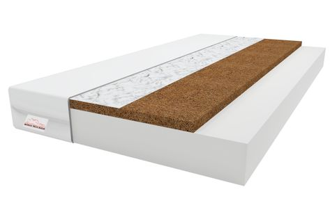 Materac COCO 70x140 PIANKA T25, KOKOS 140x70 8cm