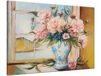 Obraz Kwiaty w wazonie 100x70 PANORAMA