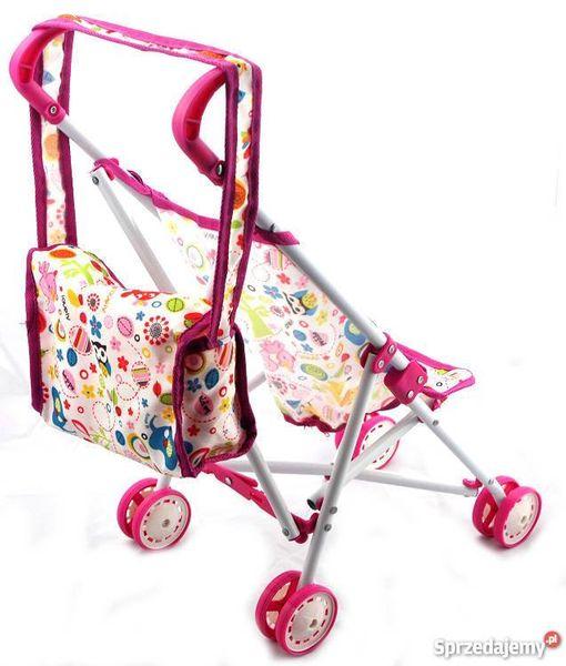 Lalka łóżeczko fotelik wózek mega wielki zestaw hit zdjęcie 2